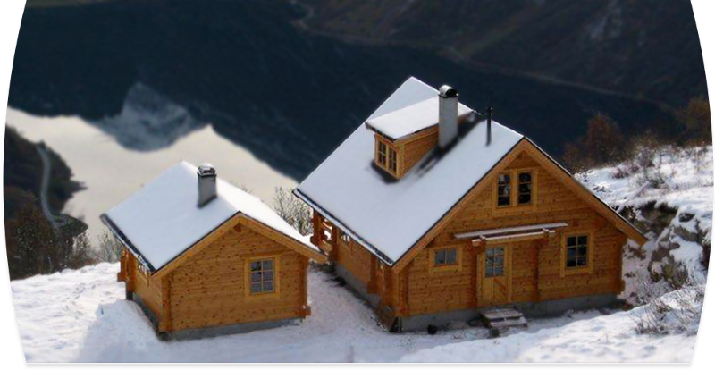 Maison en bois massif honka constructeur de maisons en for Constructeur de maison en bois massif